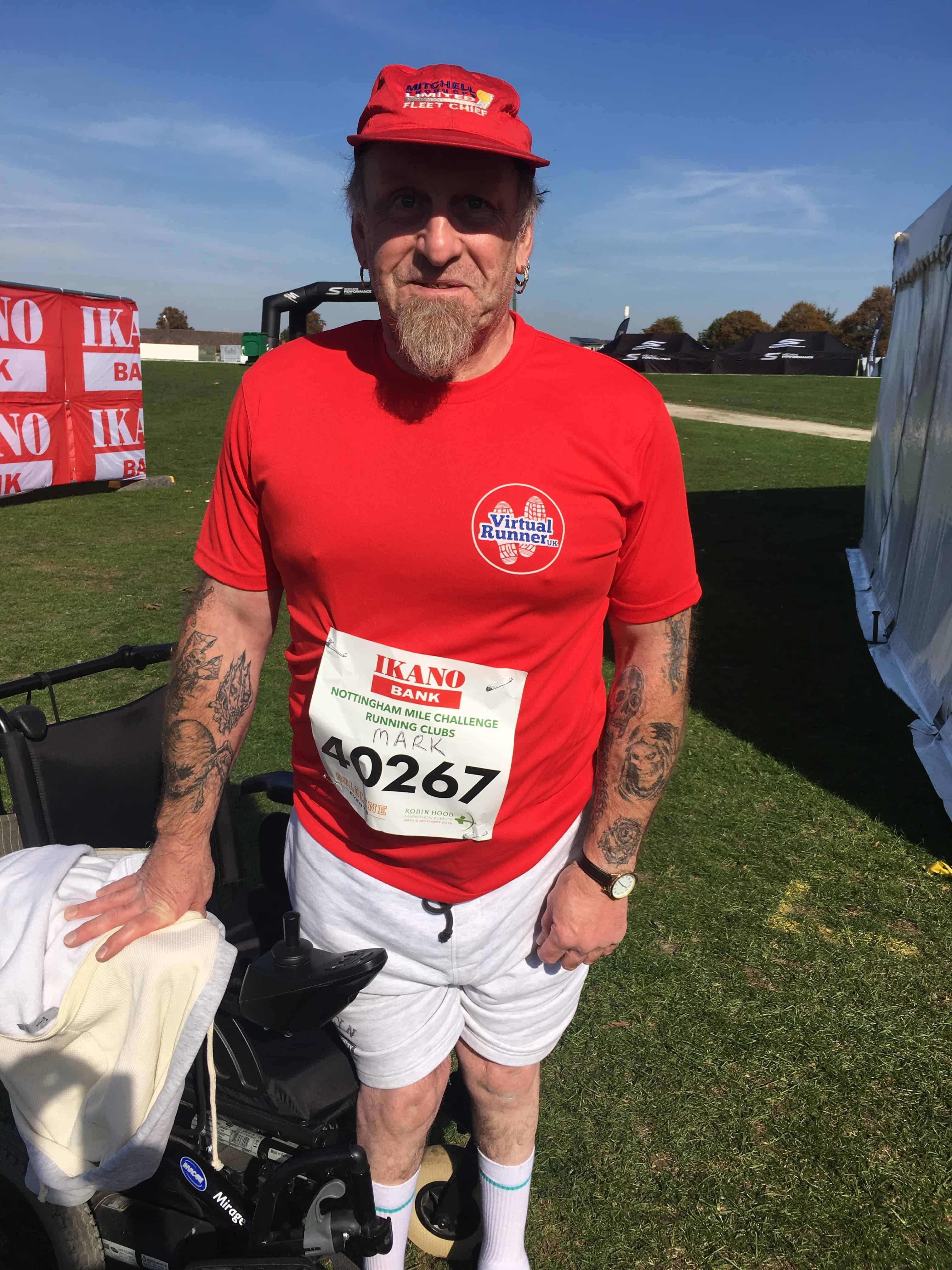 Marks 1 Mile Challenge…….completed!!